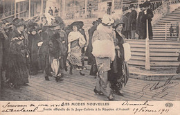 LES MODES NOUVELLES Sortie Officielle De La Jupe-Culotte à La Reunion D'Auteuil 1911 Édition ELD ( ͡◕. ͡◕) ♣ - Fashion