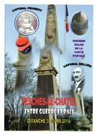 """FESCHES LE CHATEL - 30 Mars 2014 - 11e Salon Carte Postale """"Entre Guerre Et Paix""""-monument..à Saisir - Otros Municipios"""