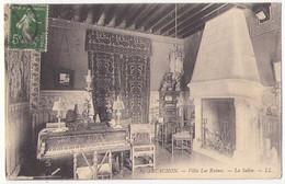(33) 062, Arcachon, LL 84, Villa Les Ruines - Le Salon - Arcachon