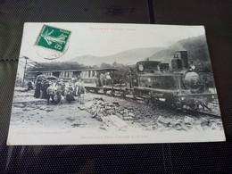 H3-VALLÉE DE CELLES- Arrivée D'un Train à CELLES-SUR-PLAINE - Other Municipalities
