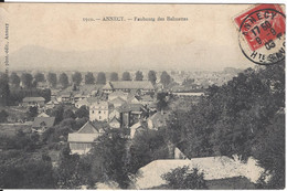 74 ANNECY FAUBOURG DES BALMETTES   Editeur PITTIER N ° 1910 - Annecy