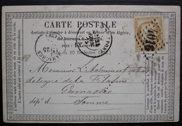 Le Tréport 1875 Gc 4016 Carte Précurseur Pour La Somme - 1849-1876: Période Classique