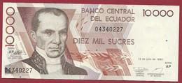Equateur 10000 Sucres Du 12/07/1999 ---UNC --(293) - Ecuador