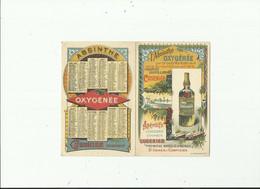 Carte Publicitaire L'absinthe - Publicité