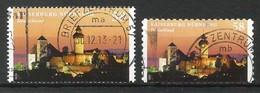 BRD 2013  Mi.Nr. 2973 + 2978 , Kaiserburg Nürnberg - Selbstklebend + Naßklebend - Gestempelt / Fine Used / (o) - Gebraucht