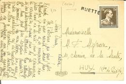 CP Pour Huy Avec GRIFFE De RUETTE ( Virton  ) . - Lineari
