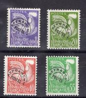 PREOS 119 à 122, Neufs**, Cote 45€ - 1964-1988