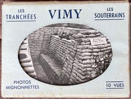Vimy, Petit Carnet De 10 Vues, France. - Lens