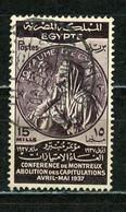 EGYPTE - CONF. DE MONTREUX - N° Yt 197 Obli. - Used Stamps
