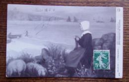 CPA - Audierne - Salon 1911 L.Printemps ( Peinture) - Audierne