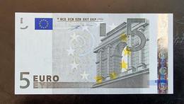 5 Euro Duisenberg P006 X07 UNC Germany - Bankfrisch - 5 Euro