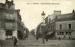 NEVERS AVENUE GEORGES CLEMENCEAU - Nevers
