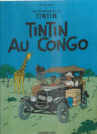 TINTIN - TINTIN AU CONGO ( HERGE )  - CASTERMAN - Tintin