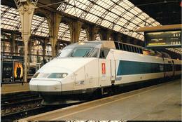 France Postcard 1992 Albertville Olympic Games - TGV   W/Ad For The Games On Sides Mint (G134-43) - Winter 1992: Albertville