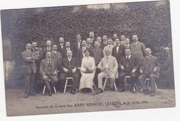 48462 -    Leipzig  Souvenir  De La Visite Chez  Karl Krausre - 1914  -  Fabrique -  Carte  Photo - Leipzig