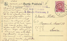 Bruges Cercle Militaire Belge 1920. - Military Post