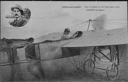 CHATEAU RENAULT -- Fête D'Aviation Du 30 Sept. 1912 - R. GARROS Au Départ - Other Municipalities
