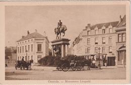BELGIUM - Ostende - Monument Leopold - Oostende