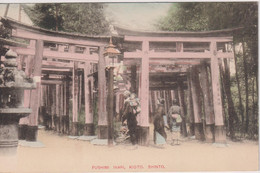 JAPAN - Fushimi Inari KIOTO - Unused Undivided Rear - Kyoto