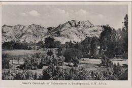 NAMIBIA (German South West Africa) - Poser's Gemusefarm Palmenhorst B. Swakopmund - RPPC - Namibia