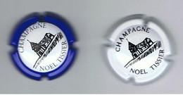 CHAMPAGNE NOEL TISSIER-LOT DE 2 CAPSULES- - Otros