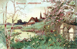 CHROMO CHOCOLAT D AIGUEBELLE PAYSAGE - Aiguebelle