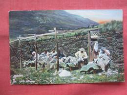 Tuck Series  --Scottish Farm -Sheep Shearing      Ref 5059 - Non Classés