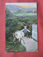 Tuck Series ---Scottish Farm --- No Road This Way        Ref 5059 - Non Classés