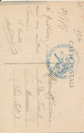Tampon 13eme Corps D'armée Hôpital Temporaire N° 16 Montbrison (42 Loire) Le Médecin Chef 1915 Carte Ecotay Pour Ancenis - 1. Weltkrieg 1914-1918