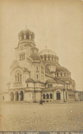 SOFIA CARTE PHOTO EGLISE ST. AL NEVSKY - Bulgaria