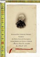 KL 1713 - RELIQUE - RELEKWIE - REVEREND PERE ETIENNE PERNET - FONDATEUR DES PATITES SOEURS DE L ASSOMTION - Images Religieuses