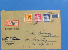 Allemagne Bizone 1949 Lettre De Ehmen (G2477) - Zone Anglo-Américaine