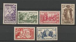 MARITANIE  N° 66 à 71 NEUF* Avec Ou  TRACE DE CHARNIERE  / MH / - Unused Stamps