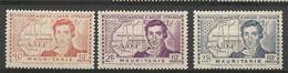 MARITANIE  N° 95 à 97 NEUF*   TRACE DE CHARNIERE  / MH / - Unused Stamps