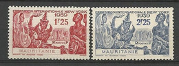 MAURITANIE  N° 98 Et 99 NEUF** LUXE SANS CHARNIERE  / MNH - Unused Stamps