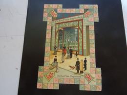 CHOCOLAT KOHLER Carte    35 Boulevard Des Capucines Avec Publicité - Chocolat