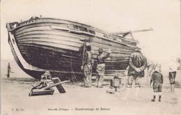 62 - Berck-Plage (Pas-de-Calais) - Goudronnage De Bateau - Berck