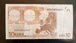 10 Euro Duisenberg R003 X03 Circ. Germany - RRR - 10 Euro