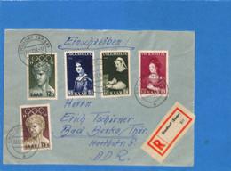 Saar 1956 Lettre De Ensdorf (G2658) - Lettres & Documents