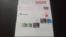 Portugal - 4 Cartas Modernas Circuladas - Lettere