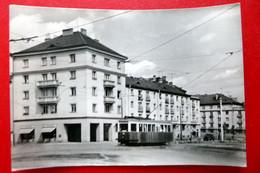 Pilsen - Plzeň - Echt Foto - Slovanská Alej - Straßenbahn - Drogerie - Historische PK Böhmen - República Checa