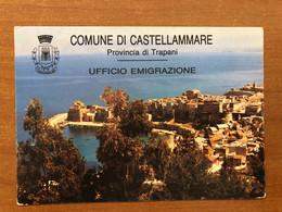COMUNE DI CASTELLAMMARE DEL GOLFO ( TRAPANI ) UFFICIO EMIGRAZIONE - Trapani
