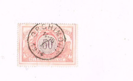 """Oblitération """"Orchimont"""" Sur 50 Centimes. - 1895-1913"""