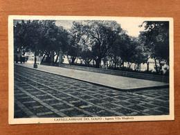 CASTELLAMMARE DEL GOLFO ( TRAPANI ) INGRESSO VILLA MARGHERITA 1931 - Trapani