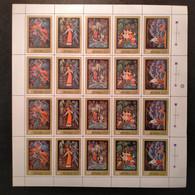 RUSSIA 2000 MNH (**)1975 Miniatures From Palekh Art Museum     Mi 4436-4438 - Volledige Vellen