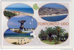 TORTORETO LIDO    Multi View; EUROPA - Stamp, Astronomiam, Nixe, Mermaid - Teramo