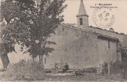 MALEMORT (Vaucluse) Ermitage De Saint-Antonin - Otros Municipios