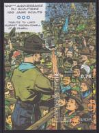 BÉLGICA 2007 - Hoja Bloque Europa CEPT Scouts -MNH- - 2007