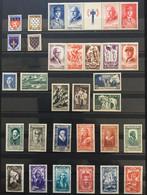 1943 (*) MH Timbre France Année Complète YT 568 à 598 - 2 Bandes 31 Valeurs (134 Euros) France – 7bleu - 1940-1949