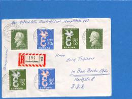 Saar 1958 Lettre De Ensdorf (G2661) - Lettres & Documents